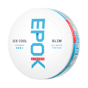 Epok Strong Ice Cool Mint All White Portion 10er Pack